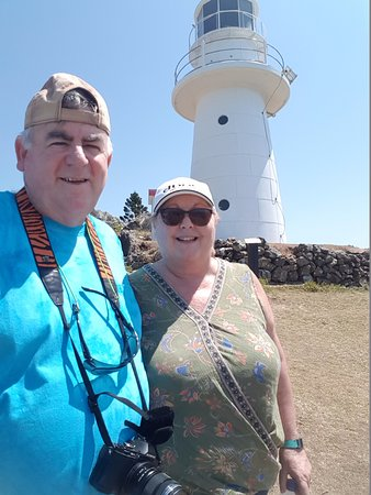 Great Beach Drive 4WD Tours: The Lighthouse amazing view of the ocean