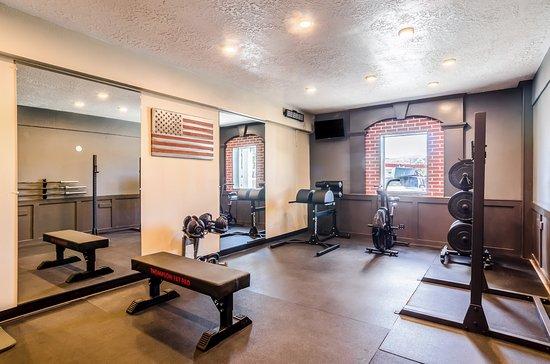 Buffalo, Wyoming: fitness room