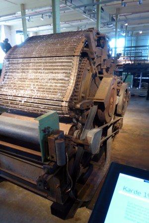 Bocholt, Tyskland: Kardningsmaskin