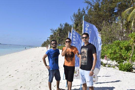 Kaafu Atoll: The Beach