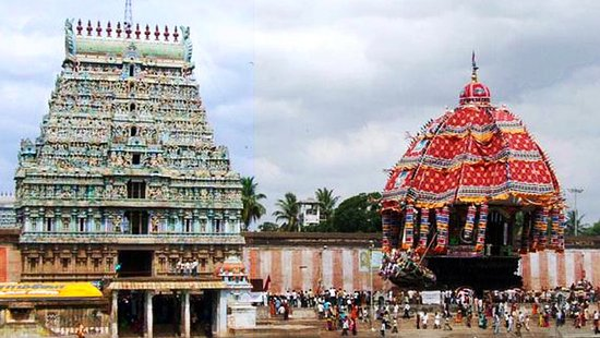 Ther (Car) festival of Thiruvarur