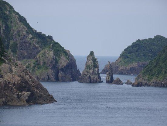 Minamisatsuma, Japón: 双剣石 (鹿児島県 南さつま市)