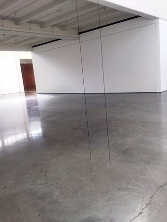 Strings from floor to ceiling     art? - Picture of Dia