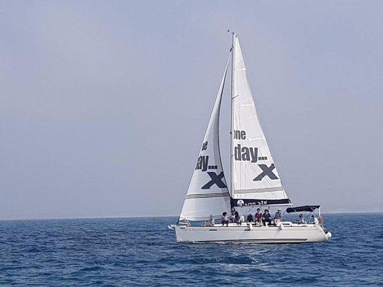 "Mazav Haruach: sailing on the ""Tamara"""