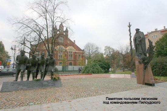 Jozef Pilsudski Statue
