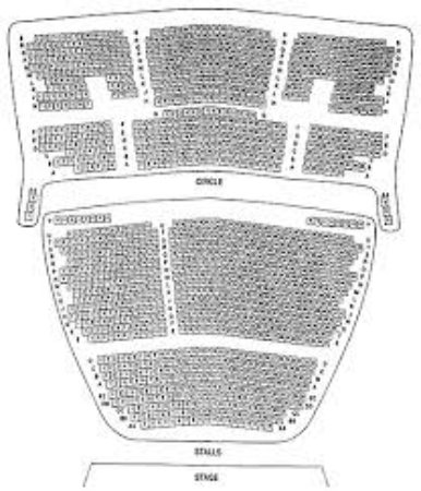 Regent Theatre Map Seating Plan   Picture of The Regent Theatre, Stoke on Trent