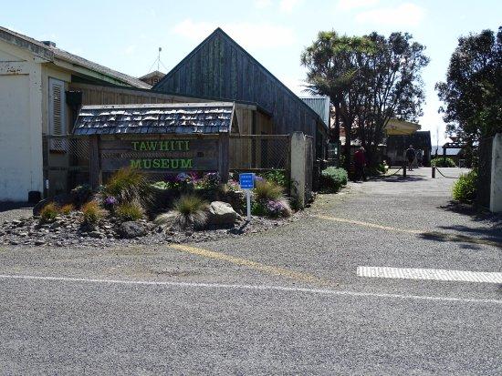 Hawera, New Zealand: Tawhiti Museum entrance
