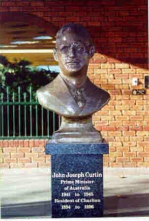 Charlton, Australia: John Curtin Statue