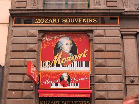 Historisches Zentrum von Wien: Моцарт, как продаваемый бренд.