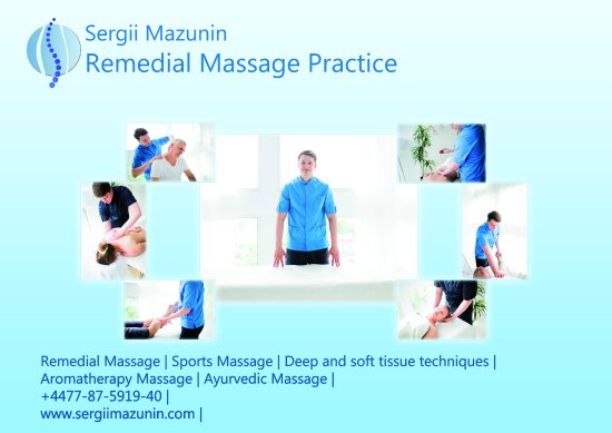 ‪Sergii Mazunin Remedial Massage Practice‬