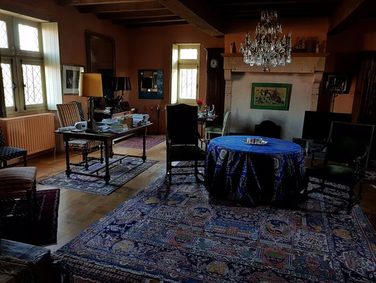 Manoir de Malfarat : une partie de la chambre