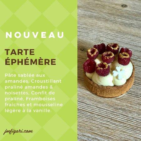 Figari, France: On vous présente notre dernière nouveauté : La Tarte Éphémère !