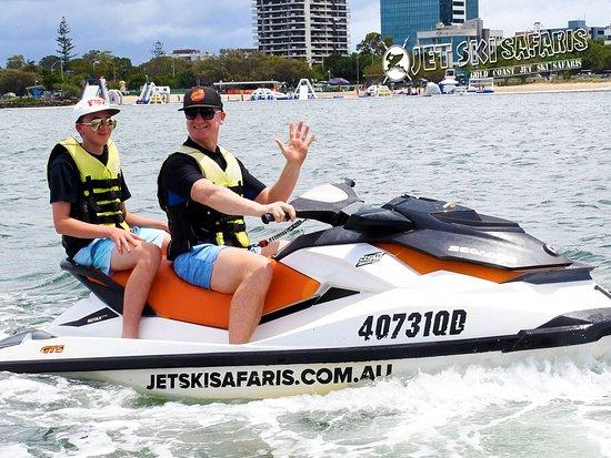Main Beach, Australia: Jet Ski Safaris