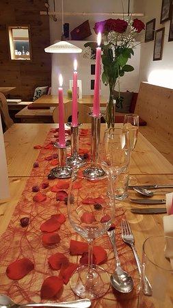 Neuhofen an der Ybbs, Østrig: Candle-Light-Dinner