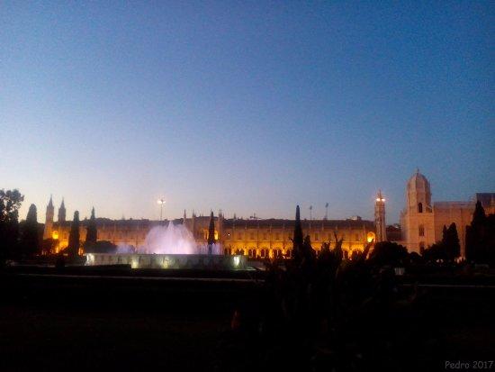 Mosteiro dos Jerónimos (Hieronymuskloster): De noche