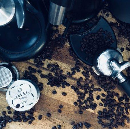 Ferntree Gully, Australië: Koffeee bar beautiful beans mess