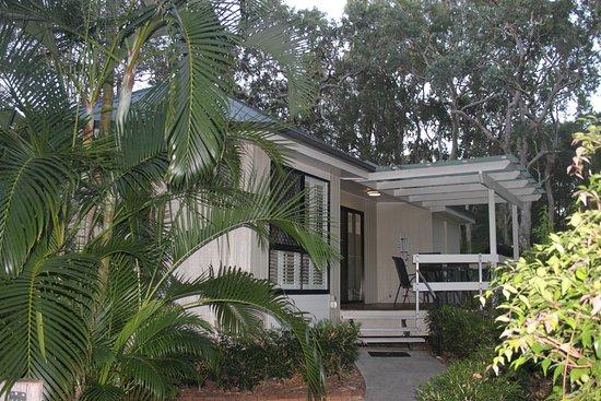 1770 Getaway: casa desde el exterior