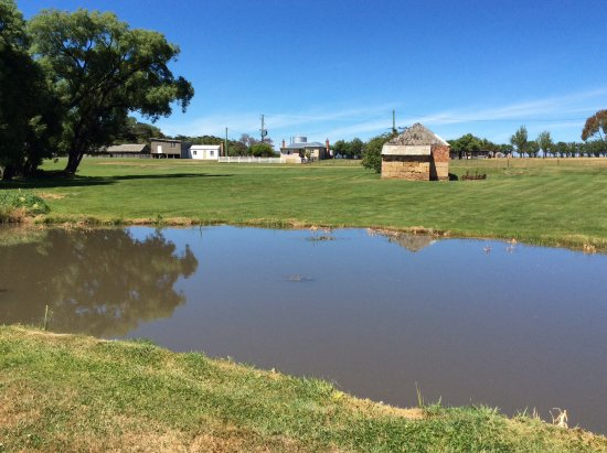 Bothwell, Australia: mill pond