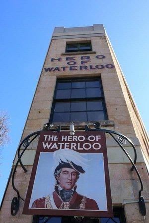 Hero of Waterloo Hotel: exterior