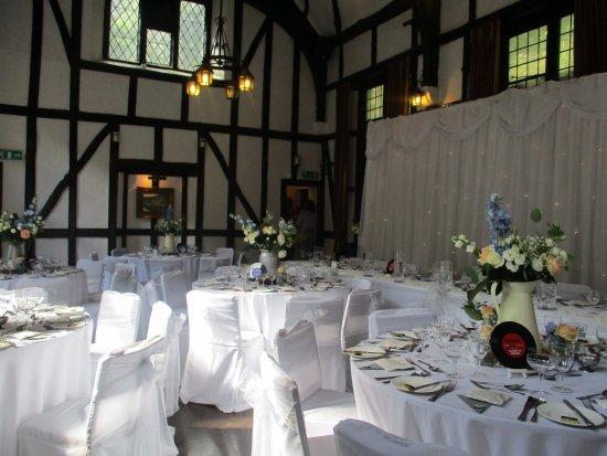 Darwen, UK: Wedding Set up