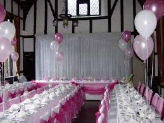 Darwen, UK: Party set up