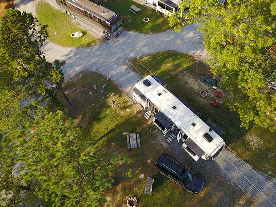 Wytheville KOA: Large sites