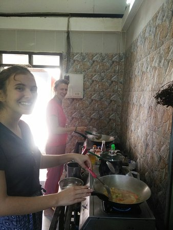 Muang Ngoi Neua, Laos: Cooking school at gecko in Meaungngoi neau