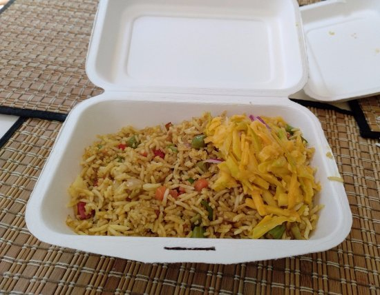 Gala Takeaway: Fried Rice with Vegetables