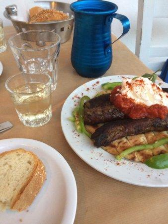 Aegiali, Hellas: Kebab