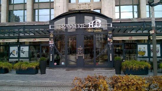Brasserie Flo Antwerp  Detail van de ingang a781d46acdd