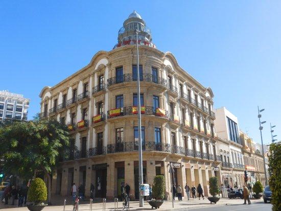 Paseo de Almería: Casa de las Mariposas, début du Paseo