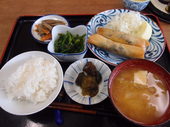 Shimosuwa-machi, Japonia: Daily meal set at high CP value