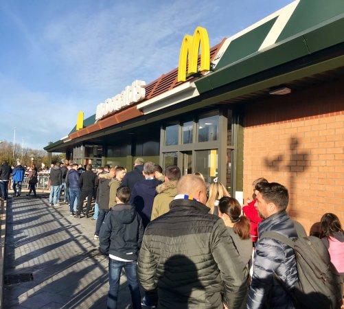McDonalds Elland Road