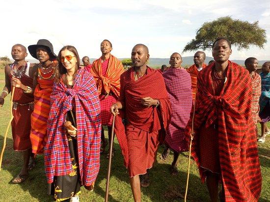 Masai Mara Manyatta Camp: Maasai village