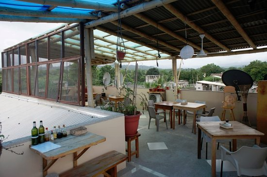 Olon, Ecuador: terrace