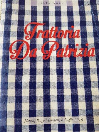Trattoria Da Patrizia : 20171119_143458_large.jpg