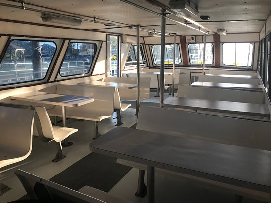 Queen Mary Party Fishing Boat & Charters: Clean Large Comfortable Cabin