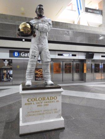 John Swigert memorial statue