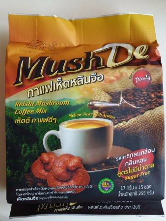 Pak Chong, Thailand: Three in one mushroom coffee