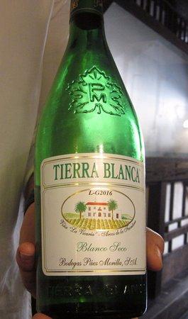 Atxuri: the local vino blanco - dry and delicious