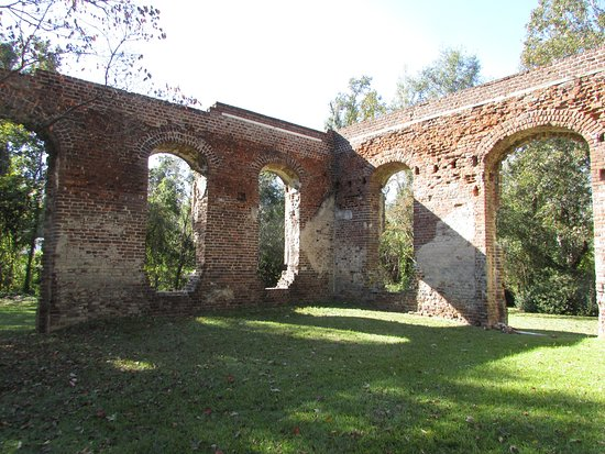 Moncks Corner, Carolina del Sur: Biggin Church Ruins