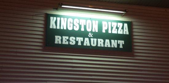 Kingston Pizza & Restaurant Sign