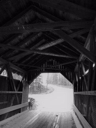 Gold Brook Covered Bridge (Emily's Covered Bridge): Emily's Bridge