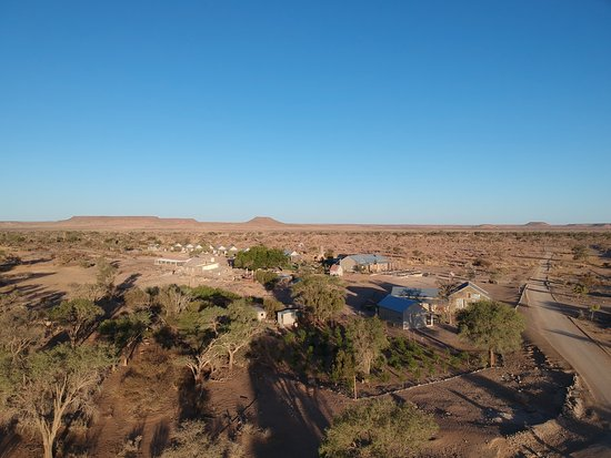 Keetmanshoop, Namibia: drone picture from close to oven