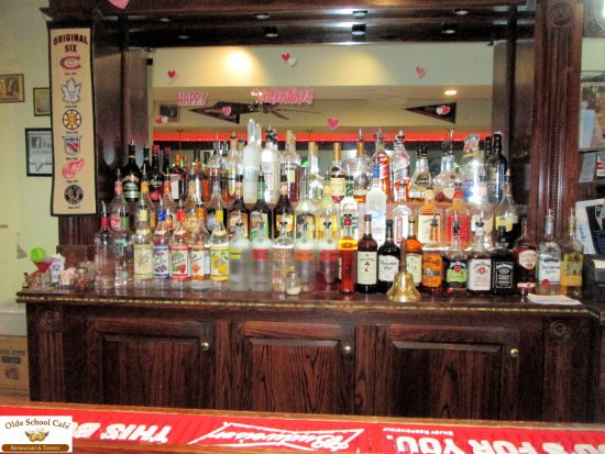 Pembroke, MA: Our fully stocked bar is ready to serve you.