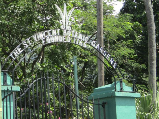 Kingstown, St. Vincent: Entrance just off the main road