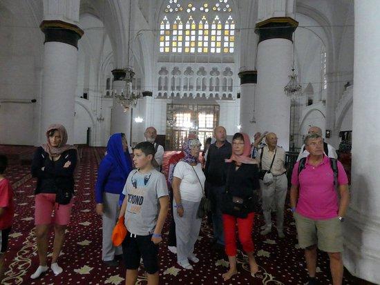 Selimiye Mosque: la mosquée Selimiye. Les touristes...