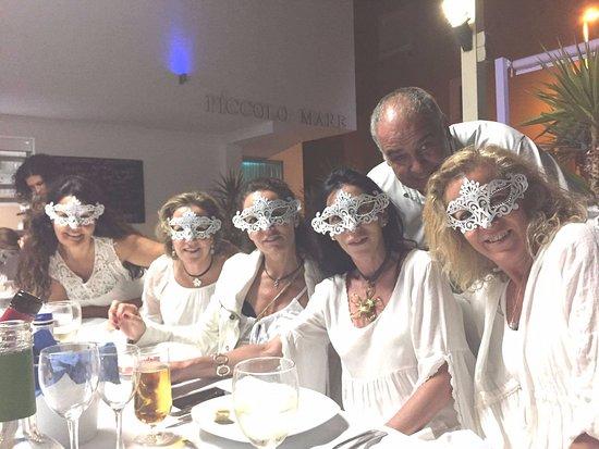 Mar de Cristal, Spain: celebrando