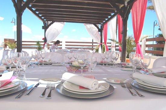 Mar de Cristal, Spain: celebraciones junto al mar