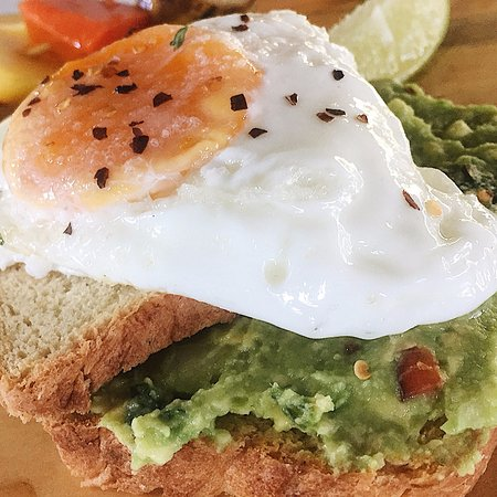 Playa Grande, Costa Rica: Avocado toast. Simple, Healthy, Delicious